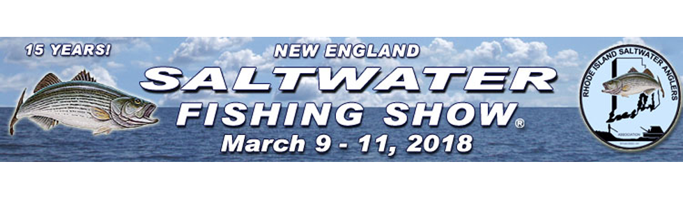 Rhode island convention center for Saltwater fishing expo